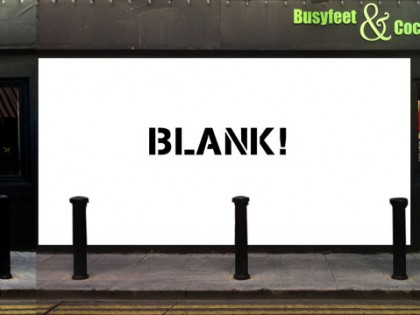 Blank? I have my eye on this  wall ! :]