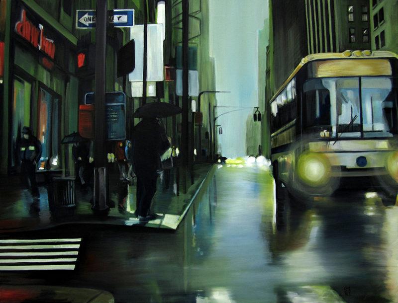 New York wet busz by shane sutton