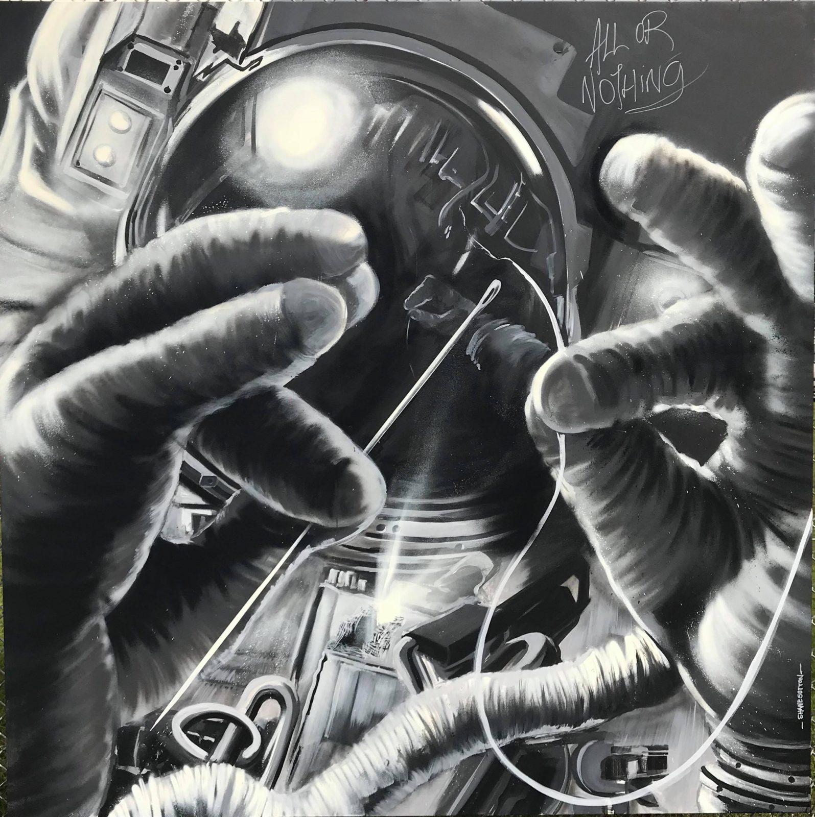 Shane Sutton Grafiti without Gravity